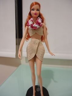 Crocheting Clothes for Your Barbie Doll: Tips and Links to Free Crochet Patterns