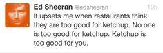 Lol I love him. Ed Sheeran ♥