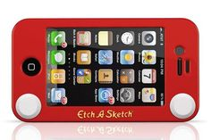 Etch-A-Sketch Case for the #iPhone $24.99