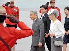 天皇皇后両陛下カナダ御訪問