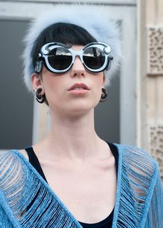 2bdddbb8aca9 So Gaga Iris Apfel to me... Popular Sunglasses