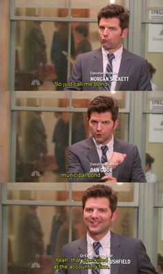 Ben Wyatt ~ Parks and Recreation