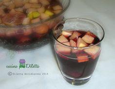 Sangria, ricetta bevanda alcolica