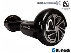 HoverboardX HBX-2 Glossy Black UL 2272 Certified with Bluetooth