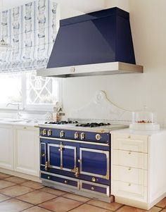 blue stove ~ again ~ perfect for that Beach House that ONLY exists in my MIND....