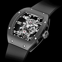 Richard Mille... An amazing timepiece.