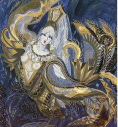viola.bz wp-content uploads 2012 03 Maria-Fedorova.-Gold-bird-of-Sirin.-1992.jpg
