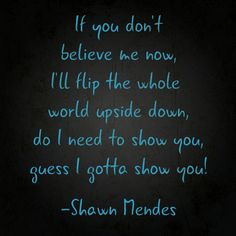 Shawn Mendes Gave Us Lyrics to His Brand-New Song, Show You | TeenVogue.com