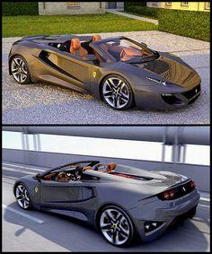 Ferrari FT12 Spider concept