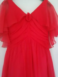 VINTAGE PINK DRESS MAXI FESTIVAL HIPPY DRESS MADE IN ENGLAND by PETER ELLIS