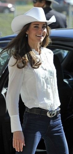 Duchess, Western Style~ she wears it well...:)