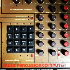 music percussion computer - @cassieldotcom- #webstagram