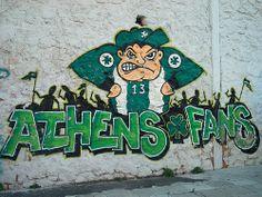 Athens fans Gate13 Panathinaikos Leoforos Sports Clubs, Football Shirts, Wall Murals, Graffiti, Athens, Fans, Wallpaper Murals, Soccer Jerseys, Football Jerseys