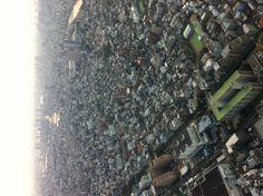 Tokyo skytree. 634m hight.