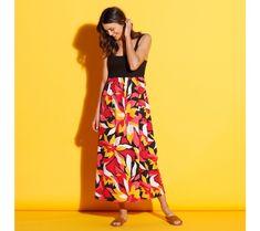 Šaty ze 2 materiálů | blancheporte.cz #blancheporte #blancheporteCZ #blancheporte_cz #moda #fashion #exkluzivni #exclusive