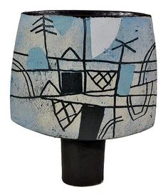 * John Maltby (born 1936) A stoneware spade form