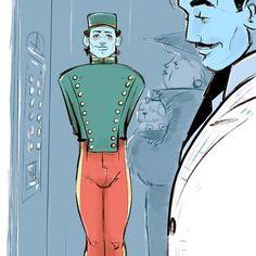 Hey Bellboy! #egorodriguez #illustration #youcanringmybell