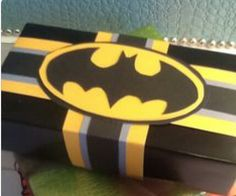 Batman christmas gift wrap
