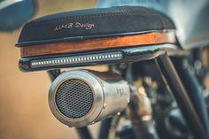 HIGH & MIGHTY. Duke Motorcycles' Stunning Honda XR600 Enduro - Pipeburn.com
