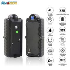 4G GPS Waterproof TK05C Stand-by 5000mAh Magnet //Price: $110.76 & FREE Shipping // #house #style #art