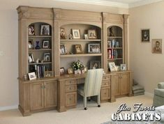 Custom Made Bed Room Desk / Wall Unit