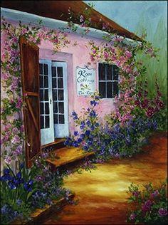 'Rose Cottage' ~ Connie Parkinson