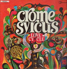 Cover art for psychedelic band Crome Syrcus, released by Command, United States, by S. Lp Cover, Vinyl Cover, Cover Art, Cool Album Covers, Pochette Album, Vinyl Junkies, Progressive Rock, Hippie Man, Punk