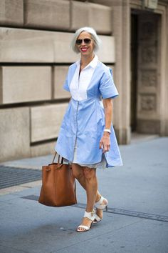 Linda Fargo out and about. All of the best street style looks spotted at #NYFW over the weekend: