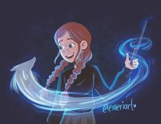 Anne as Harry Potter art Disney Hogwarts, Gilbert And Anne, Famous Novels, Anne With An E, Disney Princess Drawings, Anne Shirley, Princess Anne, Harry Potter Diy, Anne Of Green Gables