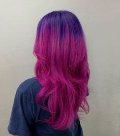 15 Pink and Purple Hair Color Ideas Trending Right Now Pastel Purple Hair, Hair Color Purple, Hair Dye Colors, Pink Hair, Blue Hair, Dark Purple, Brown Hair, Purple Style, Gray Hair