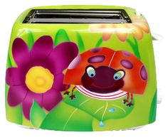 ladybug toaster...and it's green!