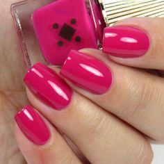 MILEY WHATS GOOD  ◆ Fuchsia // Deco Miami polishes are vegan, cruelty-free, luxury grade, 8-free nail polish made in a size that makes sense.