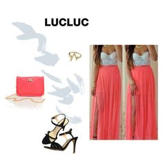 """LUCLUC #9"" by danijellaa ❤ liked on Polyvore"