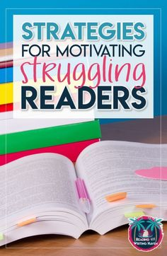 Motivate Struggling Readers 11 strategies for reaching and motivating struggling readers in middle and high school High School Reading, Middle School Ela, Middle School English, Reading Lessons, Reading Skills, Teaching Reading, Guided Reading, Reading Groups, Reading Activities