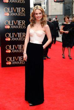Lily James - the Fashion Spot