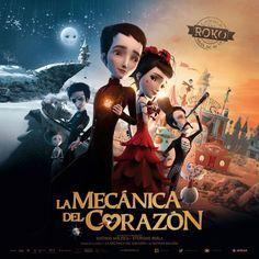 Tráiler español de la cinta de animación, 'La mecánica del corazón' - El Séptimo Arte
