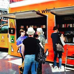 It's a great day to be at #BookCon! Stop the the #PenguinTruck to see what we have happening.  We also have all sorts of great things happening in the @penguinrandomhouse booth #3119! #bea15 #thebookcon #lovebooks #allthebooks #bookevent #books