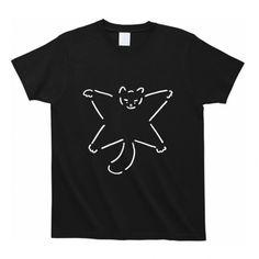 Tシャツ「FLYNG SQUIRRELS」(ブラック)