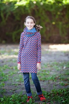 Jurkje & sjaal idee! van Hannapurzel.blogspot.de