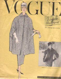 Vogue 1358 by Jacques Fath