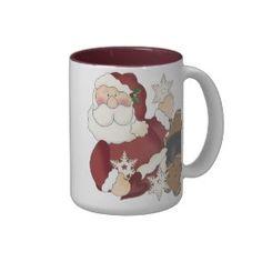 Wonderful collection of #Santa #Clause #Christmas #Mugs