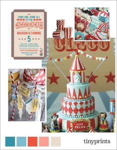 Everything from popcorn to decorative treats along with circus-themed décor create the perfect birthday experience for both children and adults.