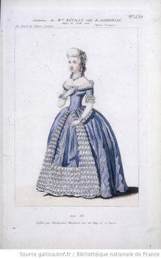 [Le code noir, opéra-comique de Clapisson et Scribe : costume de Madame Revilly (Gabrielle)] - 1