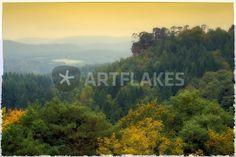 """palatinate forest"" von Bernd Hoyen #fotografie #photography #fotokunst #photoart #digitalart #kunst #art #abstrakt #abstract #berg #berge #mountain #mountains #grün #green #herbst #autumn #natur #nature #landschaft #landschaften #landscape #landscapes #deutschland #germany #pfälzerwald #palatinateforest"