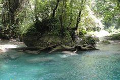 Hiking the lower pools with Rasta Renny, Portland Parish, Jamaica