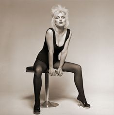 Debbie Harry's first session at Old Street Studio in London, 1977.