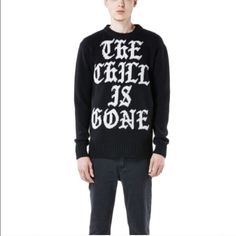 #10 unif Unif the chill is gone sweater UNIF Sweaters Crew & Scoop Necks