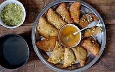 For Pancake Day, Great British Bake off winner John Whaite shares a delicious recipe for atayef, sweet Arabic pancakes with ricotta and pistachios Honey Recipes, Snack Recipes, Cooking Recipes, Healthy Recipes, Bake Off Winners, Eid Food, Jewish Recipes, Syrian Recipes, Eat Pretty