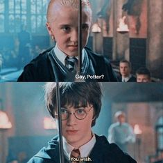 Gay, Potter? #drarry
