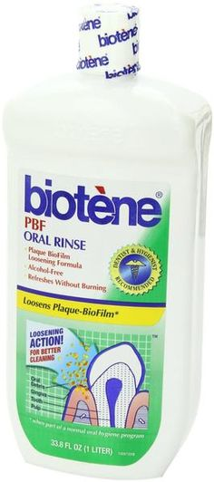 Buy the Biotene PBF Mouthwash with Calcium to help dry mouth sufferers and to clean your mouth. Read reviews on the Biotene PBF Mouthwash with Calcium.   http://www.dentist.net/collections/dry-mouth/products/biotene-pbf-mouthwash-with-calcium